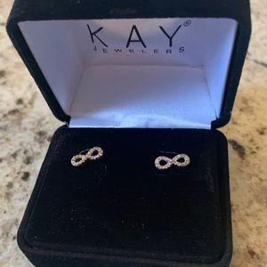 Kay Jewelers Diamond infinity earrings